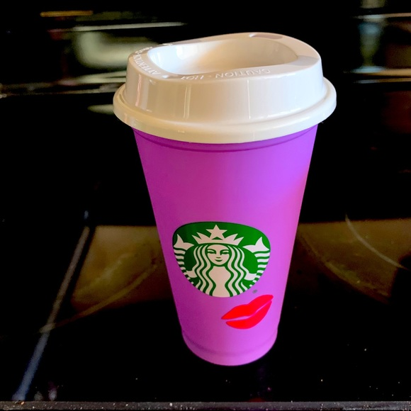 Starbucks Vday limited edition hot cup! Brand new!